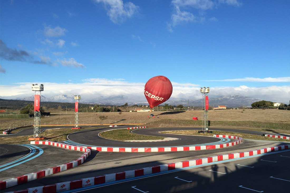 circuito de karting angel burgueño madrid