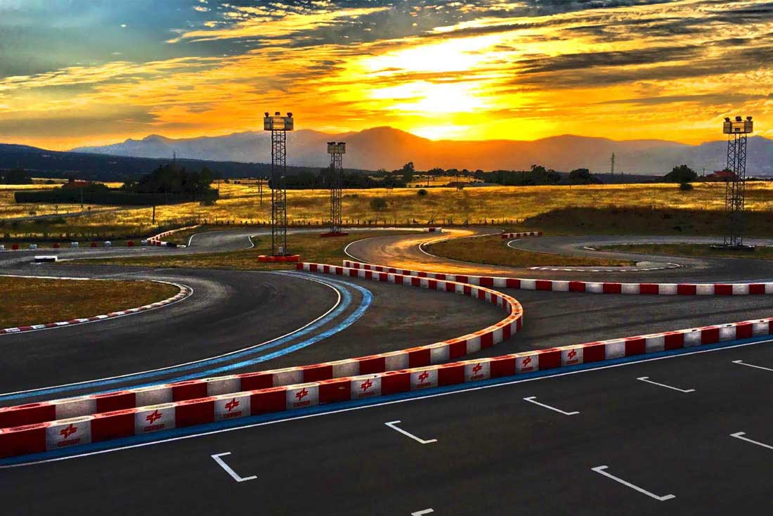circuito outdoor de karting en madrid