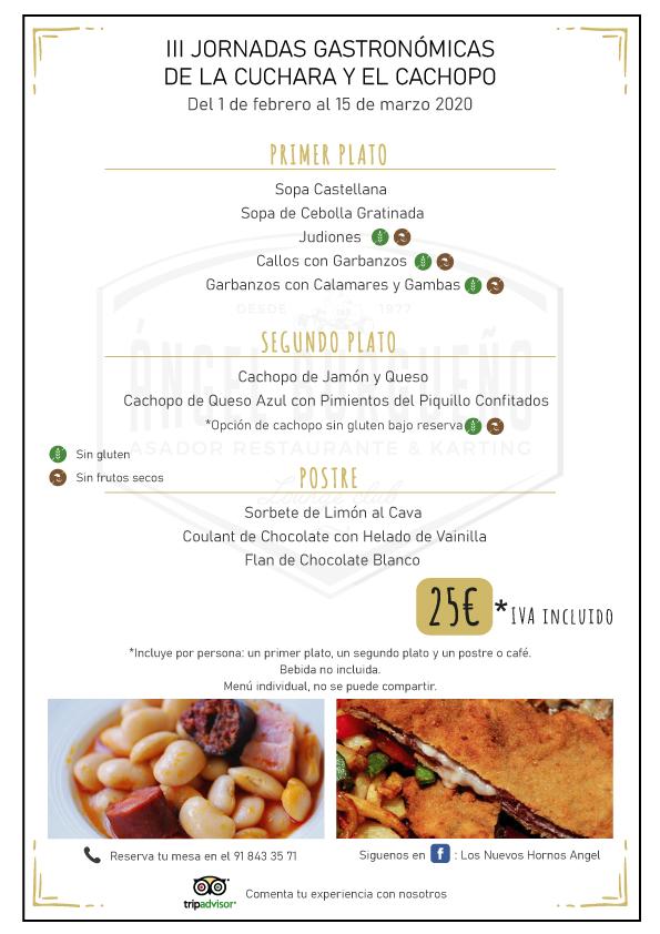 Jornadas Gastronómicas Cuchara y Cachopo